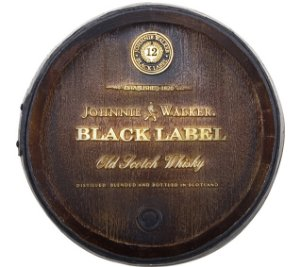 Barril Decorativo KG - Johnnie W
