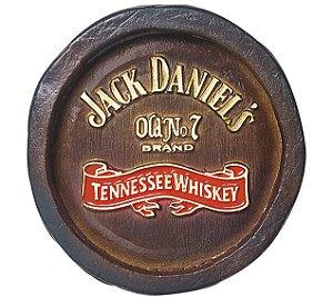 Barril Mini de parede em resina KG - Decoração – Jack Danniels Whisky