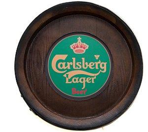 Barril Backlight Luminoso KG de parede - Carlberg Cerveja - Bivolt