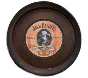 Barril Backlight Luminoso KG de parede - Jack Danniels Whisky - Bivolt