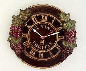 Relógio de parede KG grande em Fibra - In Vino