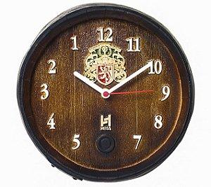 Relógio KG Barril de parede pequeno em Fibra - Anti-Horário