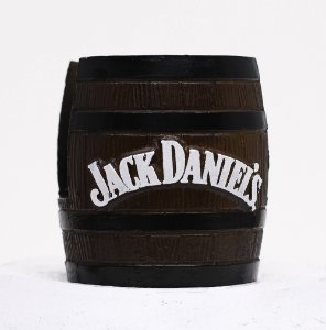 Barrica KG decorativa em resina Porta-Guardanapo Jack Daniels