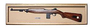 Quadro de Arma Resina KG US M1 Cal .30 Carabine - Clássico