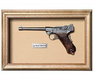 Quadro de Arma Resina KG Luger Navy mod. 1906 cal. 9 mm - Clássico