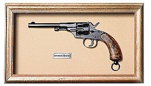 Quadro de Arma Resina KG Reichrevolver mod.1879 cal. 11mm - Clássico