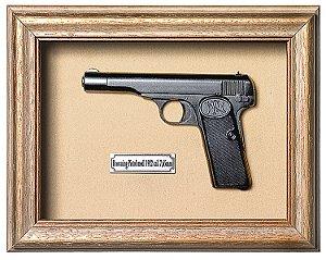 Quadro de Arma Resina KG Browning Pistol mod. 1922 cal. 7,65mm - Clássico