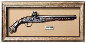 Quadro de Arma Resina KG Pederneira ca. 1700 - Clássico