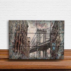Painel Decorativo Urbano Ponte