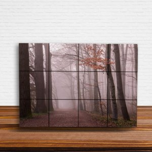 Painel Decorativo Neblina na Floresta