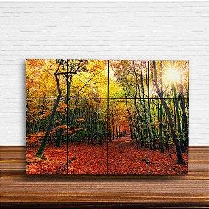 Painel Decorativo Trilha de Outono