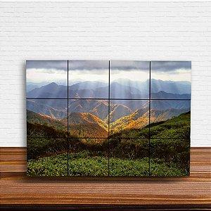 Painel Decorativo Luz nas Montanhas