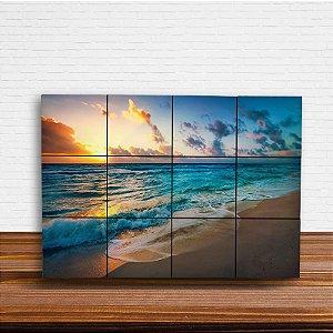 Painel Decorativo Praia e Céu