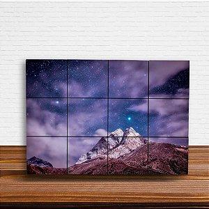 Painel Decorativo Montanha Estrelada