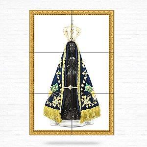 Painel Decorativo de Azulejo Nossa Senhora Aparecida #2