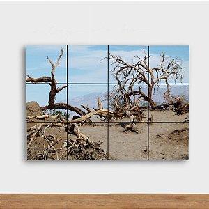 Painel Decorativo Árvores Secas