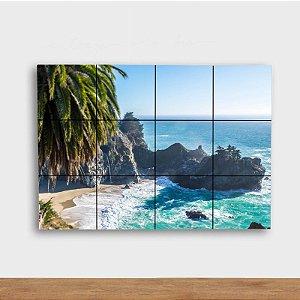 Painel Decorativo Costa da Praia