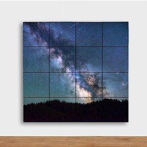 Painel Decorativo Galáxia - Quadrado