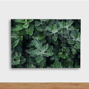 Painel Decorativo Folhagem Verde