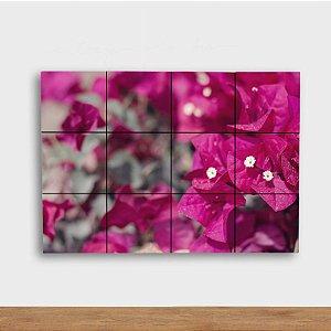 Painel Decorativo Flores Rosas