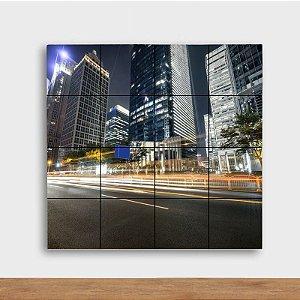 Painel Decorativo Night City - Quadrado