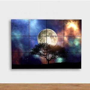 Painel Decorativo Árvore Noturna