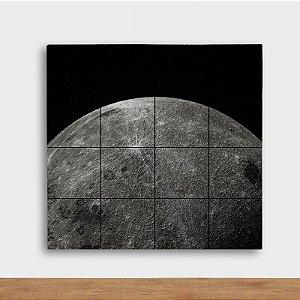 Painel Decorativo Lua Prateada - Quadrado