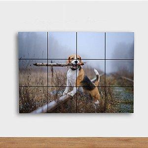 Painel Decorativo Trilha com Cachorro
