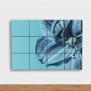 Painel Decorativo Flor Azul