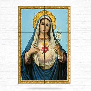 Painel Decorativo de Imaculado Coração de Maria - MOD 03