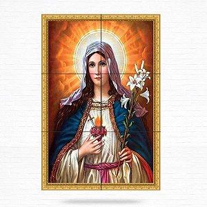 Painel Decorativo de Imaculado Coração de Maria - MOD 04