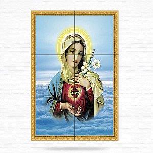 Painel Decorativo de Imaculado Coração de Maria - MOD 05