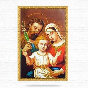 DUPLICADO - Painel Decorativo de Virgem Maria e Menino Jesus - MOD 04