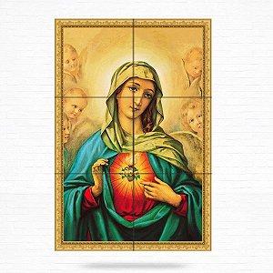 Painel Decorativo de Imaculado Coração de Maria - MOD 07