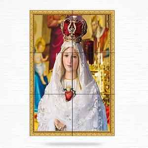 Painel Decorativo de Nossa Senhora de Fátima - MOD 04
