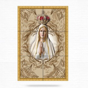 Painel Decorativo de Nossa Senhora de Fátima - MOD 05
