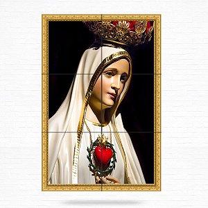 Painel Decorativo de Nossa Senhora de Fátima - MOD 06