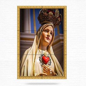 Painel Decorativo de Nossa Senhora de Fátima - MOD 07