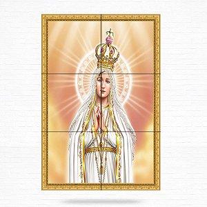Painel Decorativo de Nossa Senhora de Fátima - MOD 08
