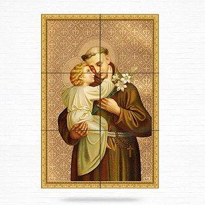 Painel Decorativo de Santo Antonio - MOD 09
