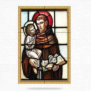 Painel Decorativo de Santo Antonio - MOD 12