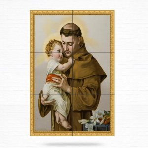 Painel Decorativo de Santo Antonio - MOD 22