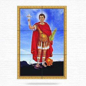 Painel Decorativo de Santo Expedito - MOD 02