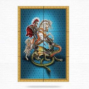 Painel Decorativo de São Jorge - MOD 03
