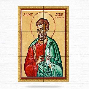 Painel Decorativo de São Judas Tadeu - MOD 07