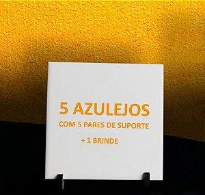 *OFERTA* 5 Azulejos Personalizados 20x20 + 1 Brinde 10x10