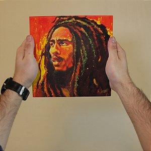 Azulejo Decorativo Bob Marley em Arte