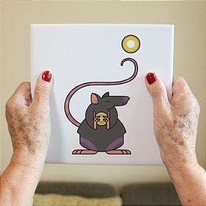 Azulejo Decorativo Ratinho Chinês