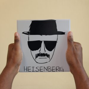 Azulejo Decorativo Heisenberg Breaking Bad