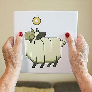 Azulejo Decorativo Ovelha